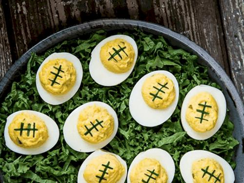 develed eggs